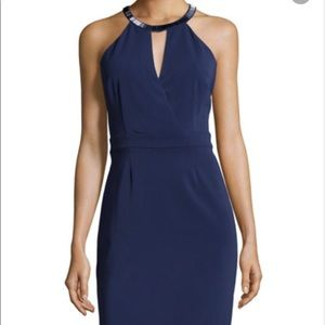 Laundry by Shelli Segal Navy Dress